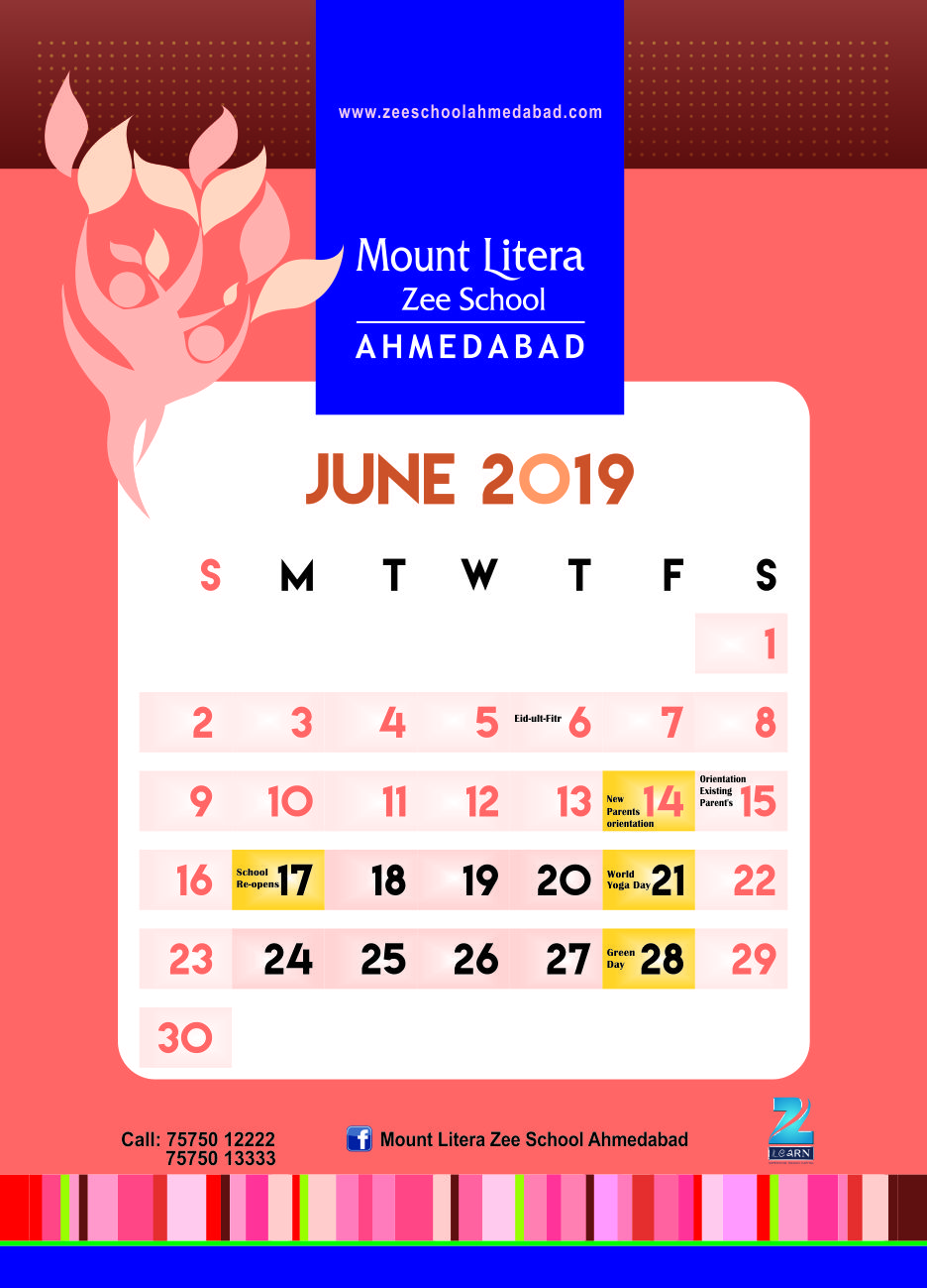August Calender